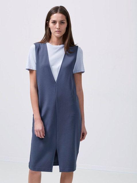 SFANYA Dress Ombre Blue