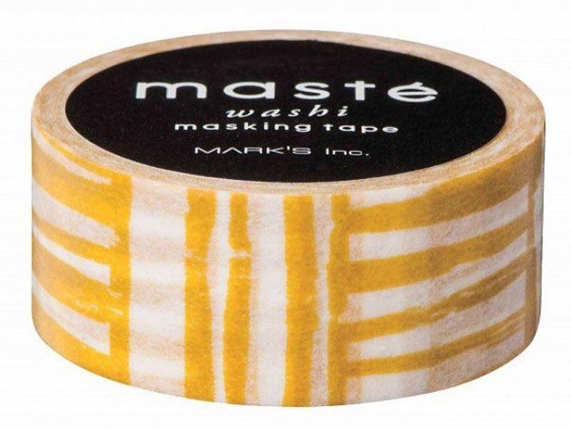Maste Tape Mustard Brush Border