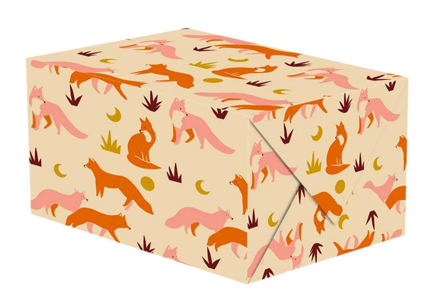 Foxes Geschenkpapier