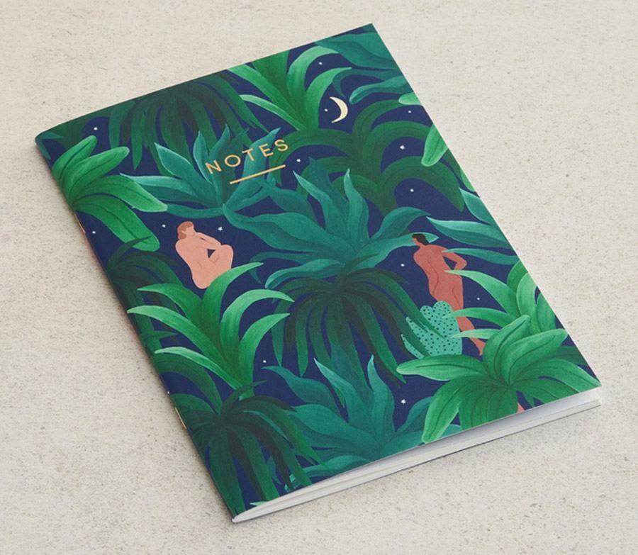 Night Jungle Notizbuch A5