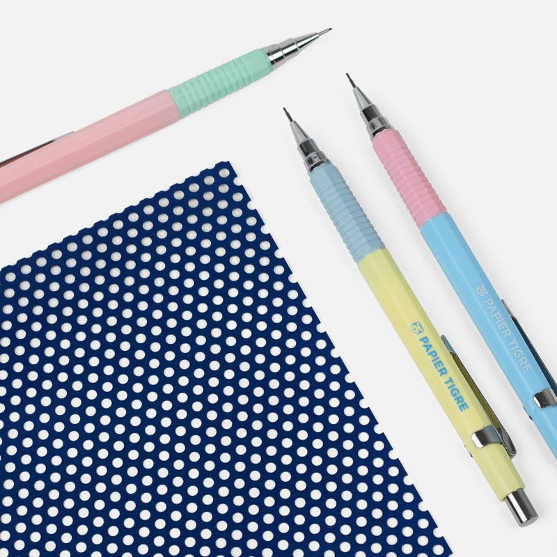 Papier Tigre Druckbleistift Hellblau Rosé