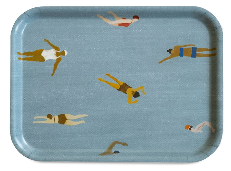 Swimmers Tablett Klein