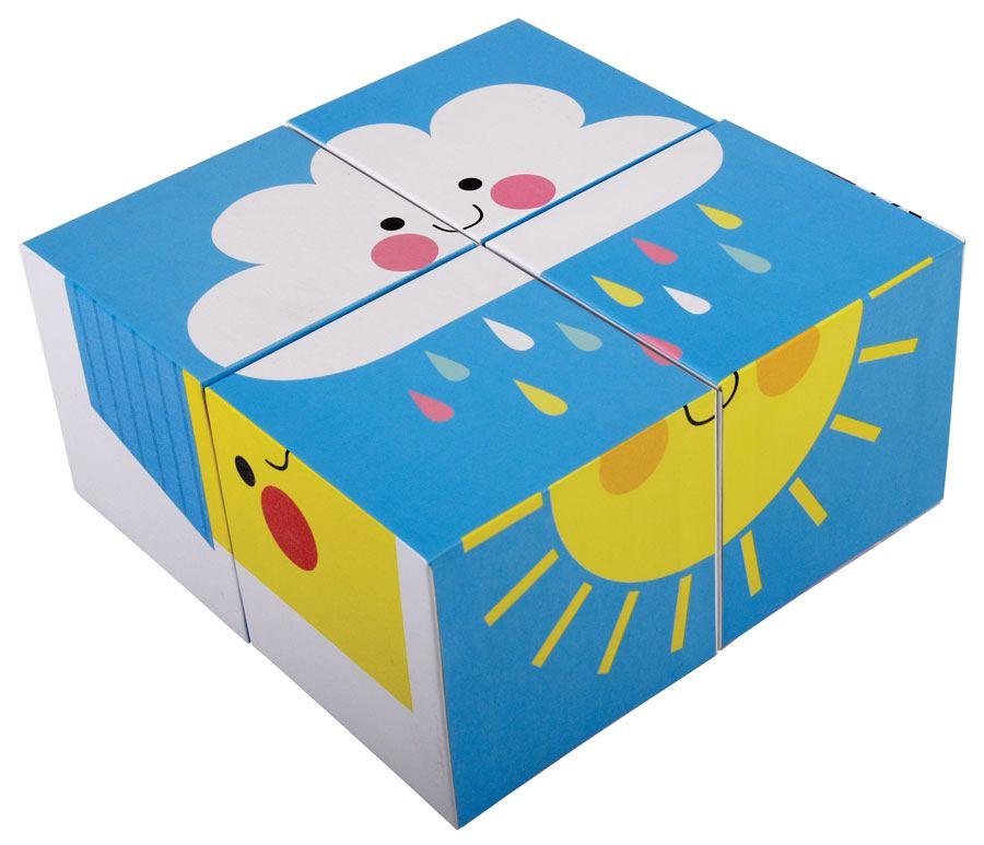 Bilderpuzzle Happy Cloud (4er Set)