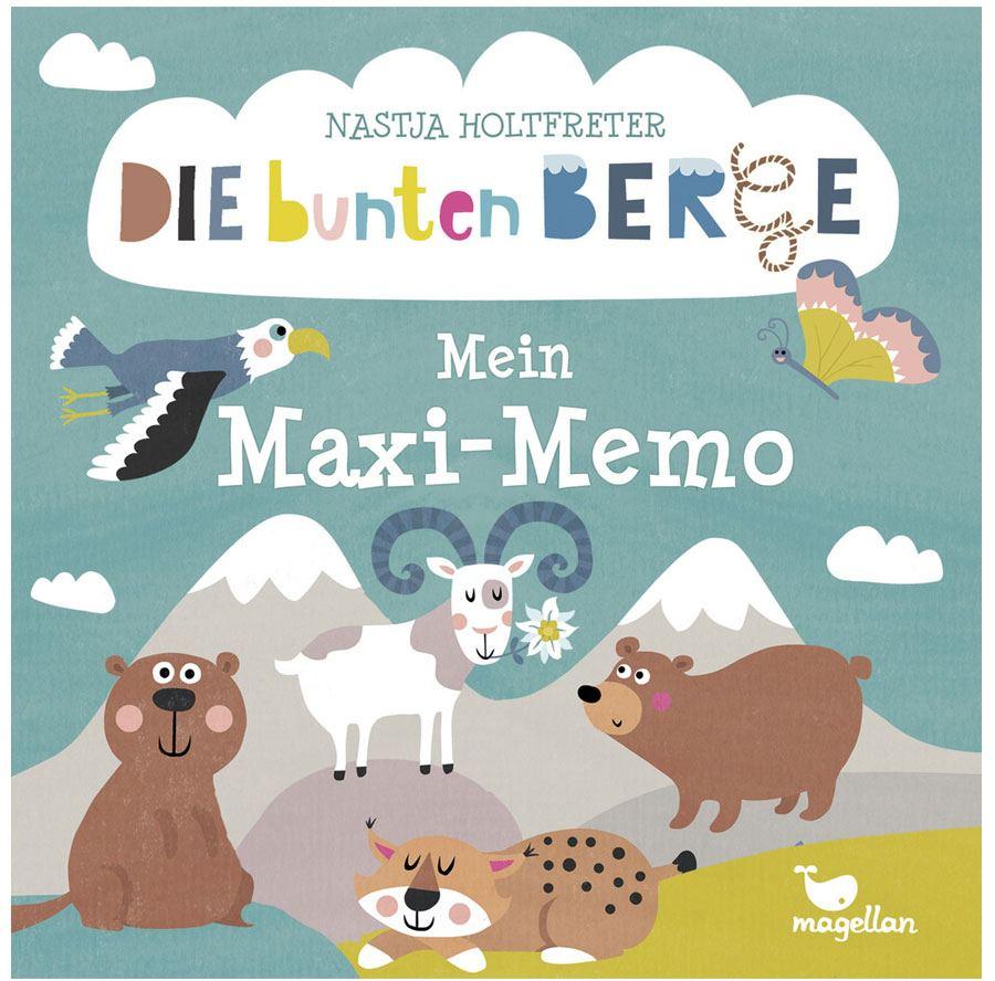 Die bunten Berge Maxi Memo