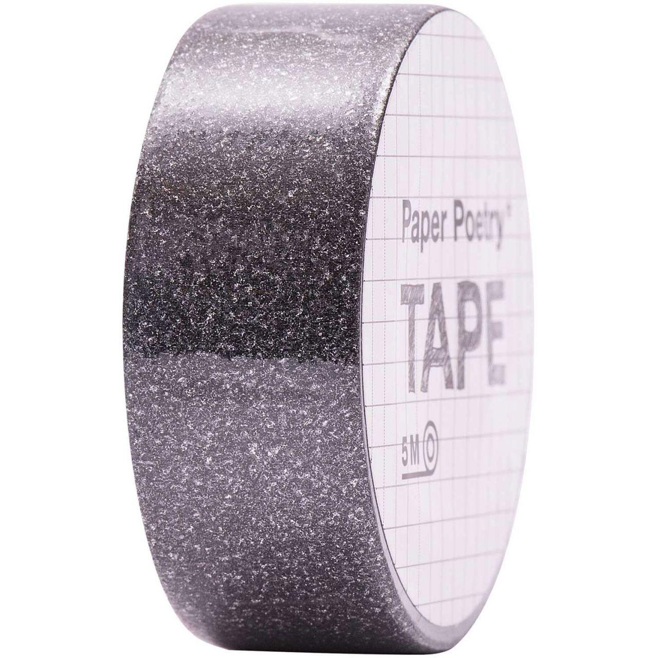 Tape Glitter Schwarz