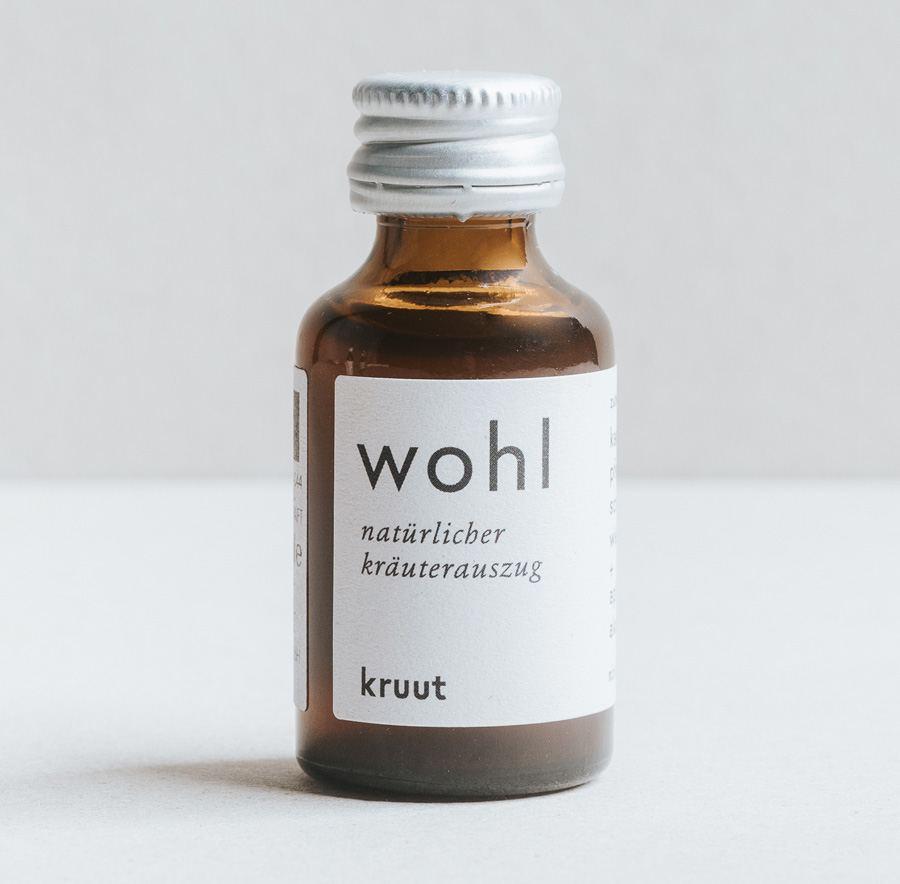 Wohl - Kraftvolle Bio-Wildkräuter (15ml)