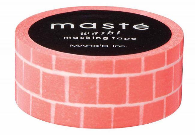 Maste Tape Orange Block