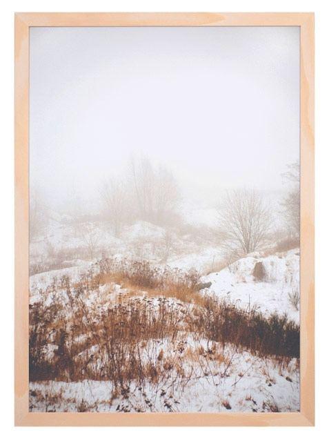 Schneelandschaft Poster (Din A3)