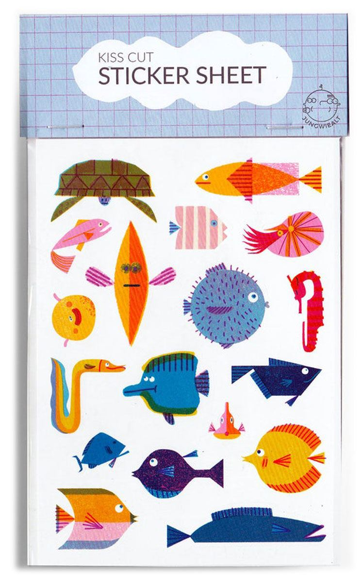 Fish Sticker Set