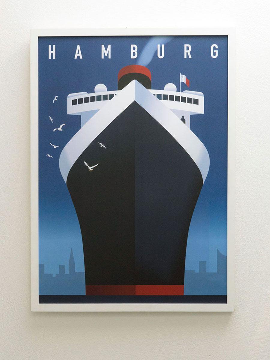 Hamburg Hafen Poster