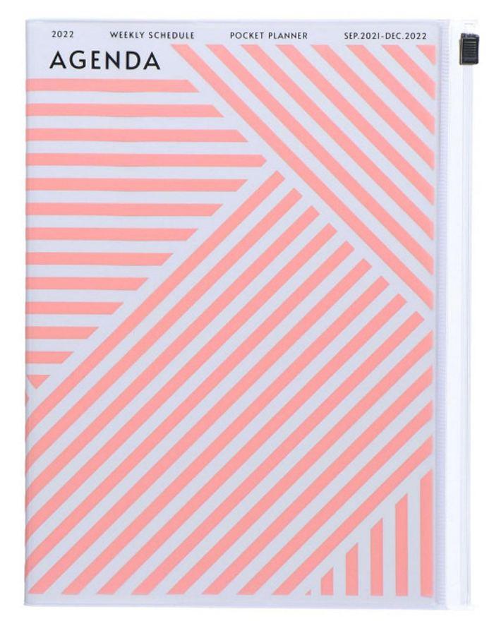 2022 Kalender A5 Storage.it Geometric Pink