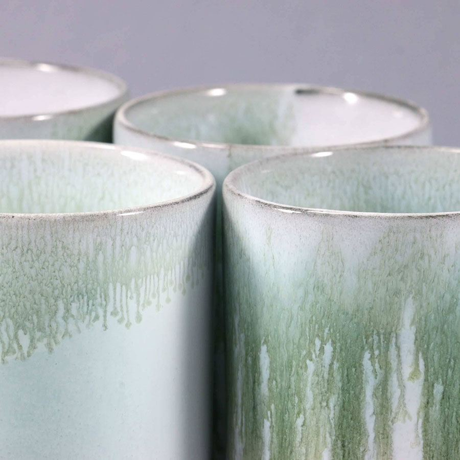 Slurp Cup Bamboo Green - Grey