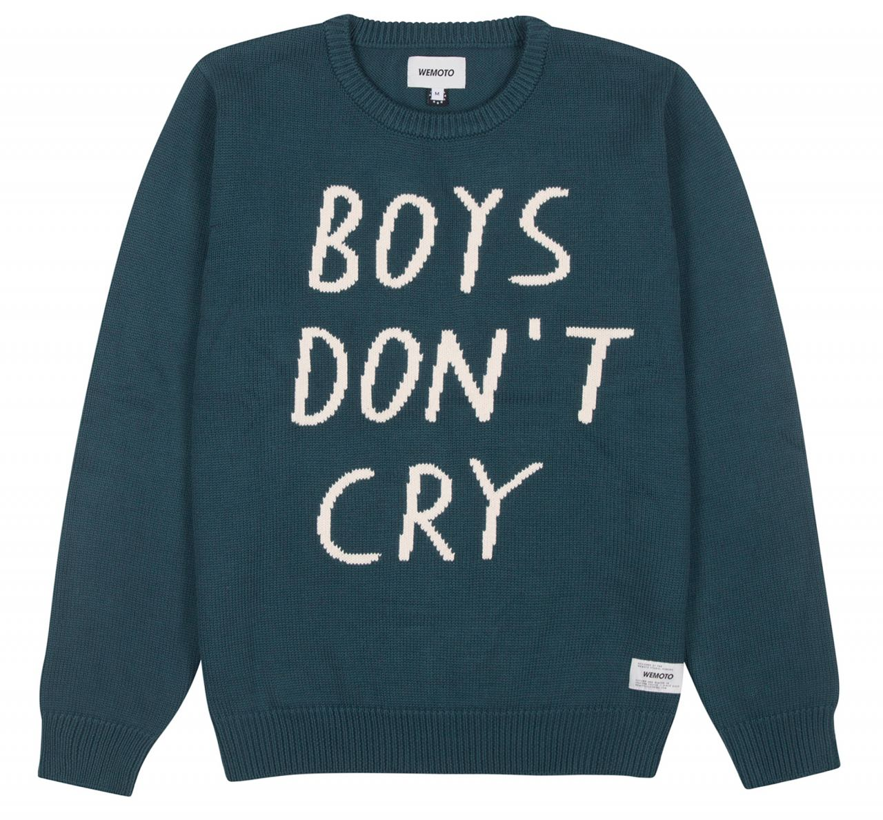 Boys Don\'t Cry Strickpullover Atlantic Green - Wemoto | Human Empire ...