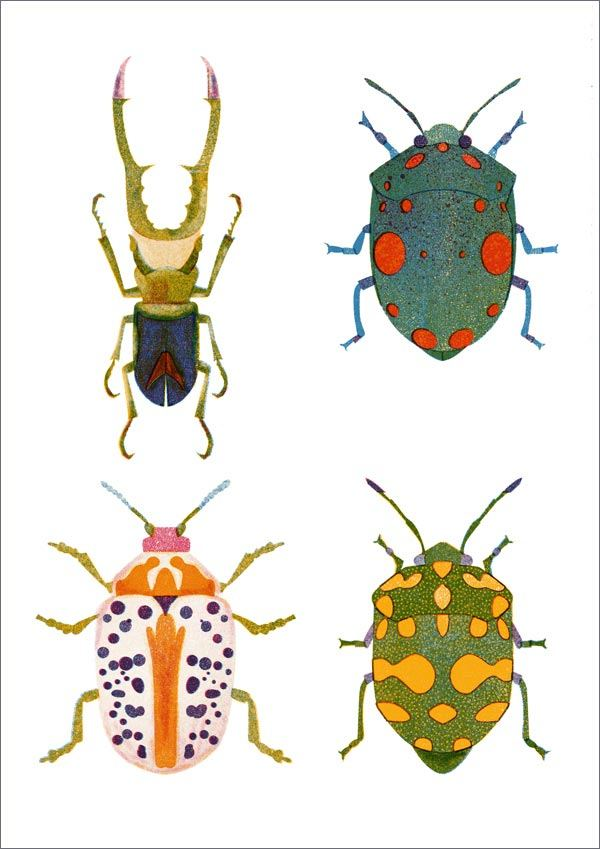 Bugs Print (A3)
