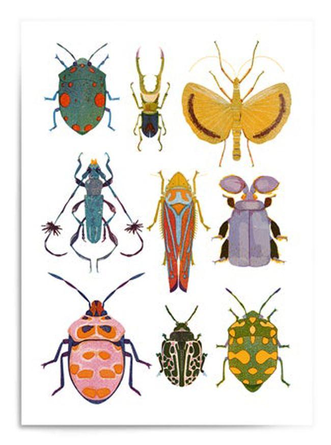 Bugs Mix Postkarte