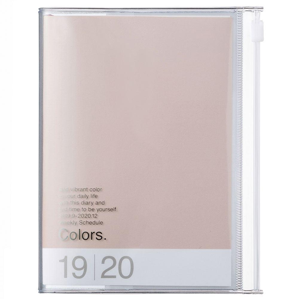 2020 Kalender A5 Colors. Pink Beige