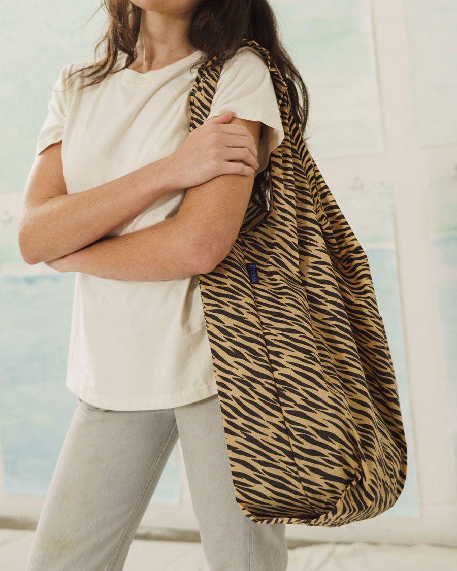 Big Baggu I Einkaufsbeutel Tiger Stripe