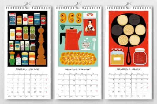 Kehvola Kitchen Kalender 2021
