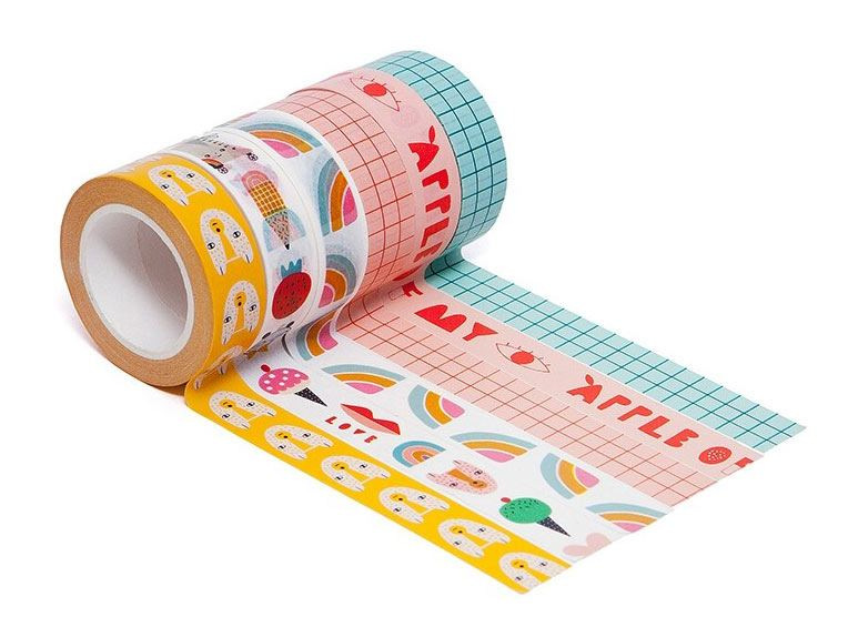 Apple Of My Eye Washi Tapes (6er Set)