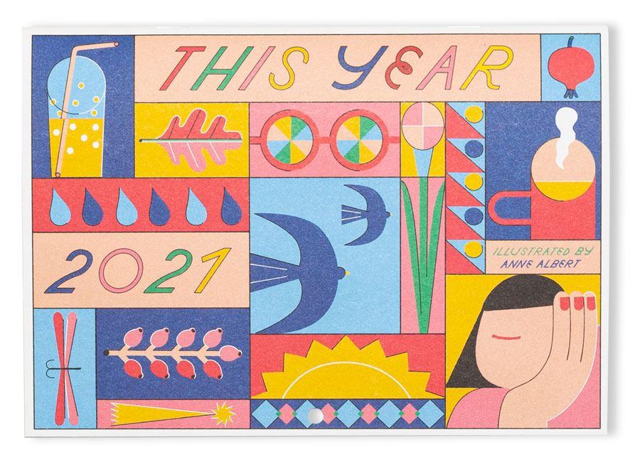 """Wandkalender """"This Year"""" 2021"""