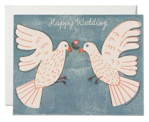 Love Birds Klappkarte