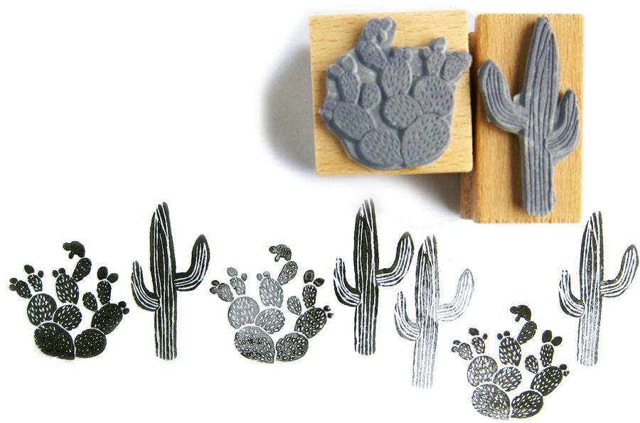 Stempelset Cactus