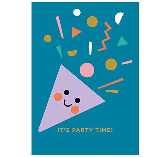 Party Time Klappkarte