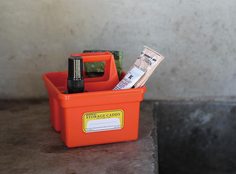 PENCO Storage Caddy Small Orange