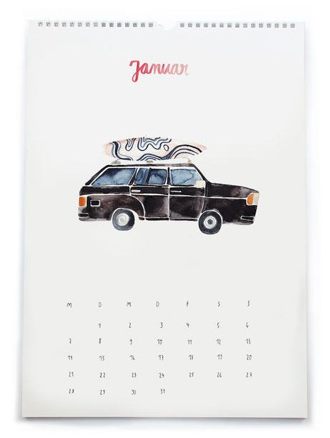 On the road Kalender 2019