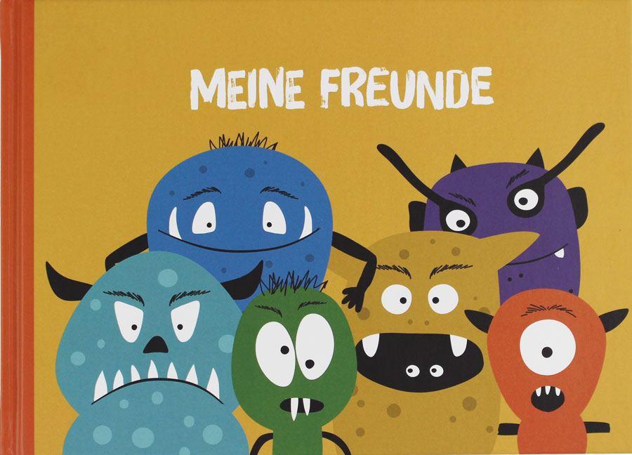 Freundebuch Monster