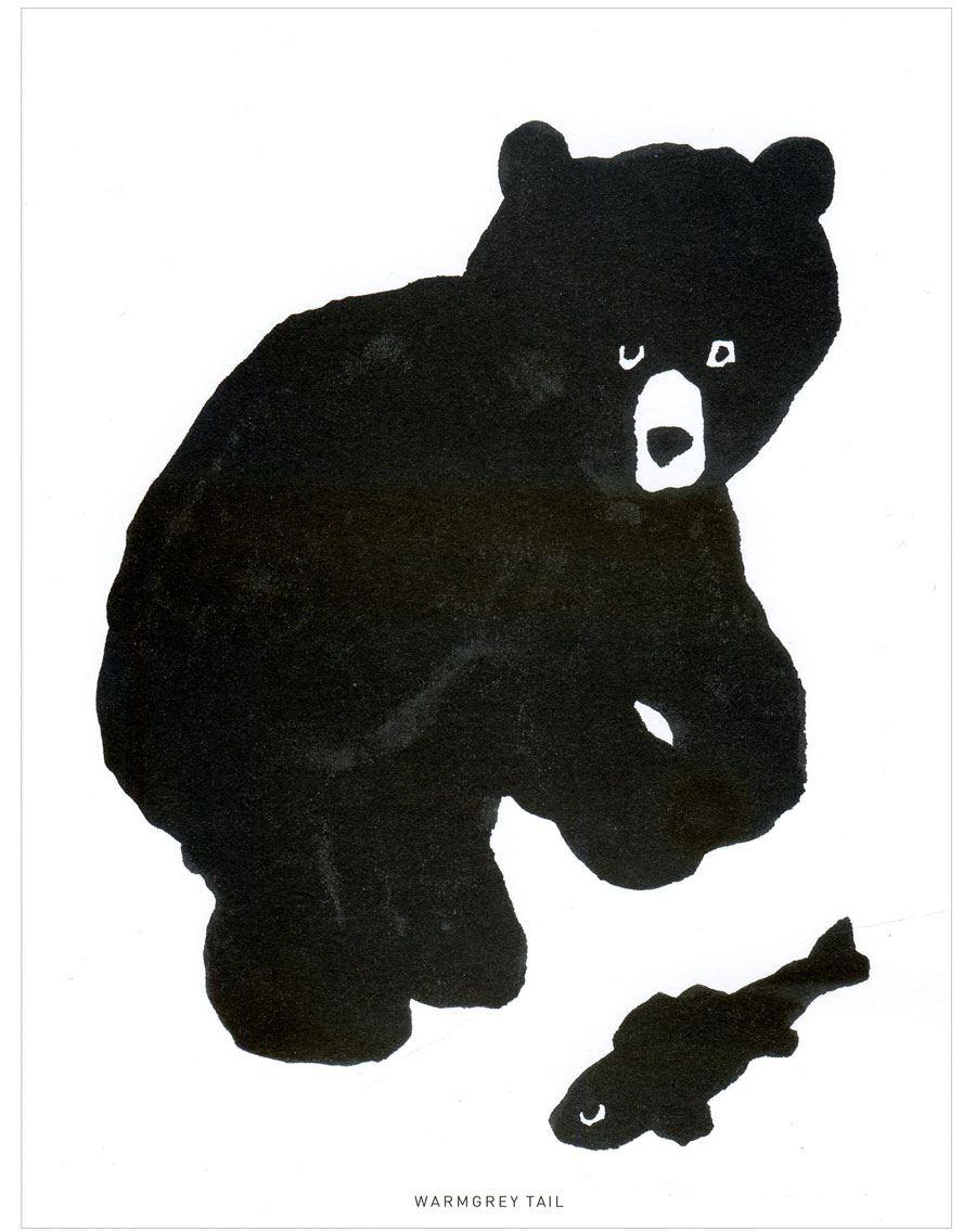 Black Bear Karte