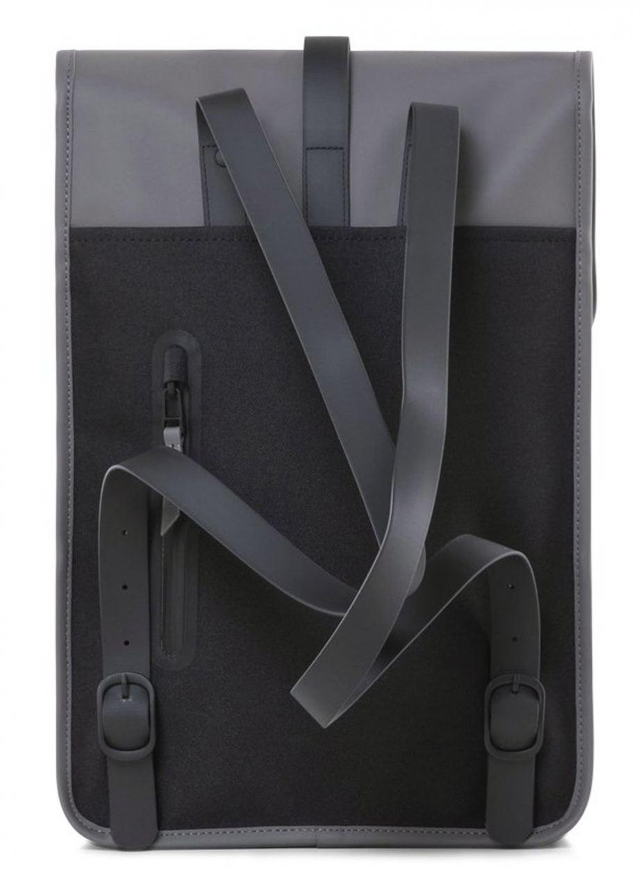 Rains Mini Backpack Charcoal