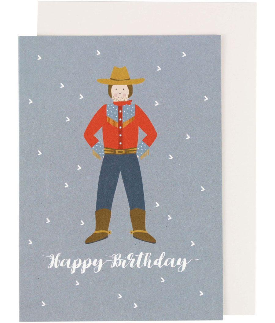 Cowboy Karte