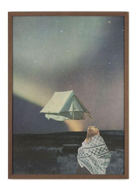 Tent Poster (50 x 70 cm)