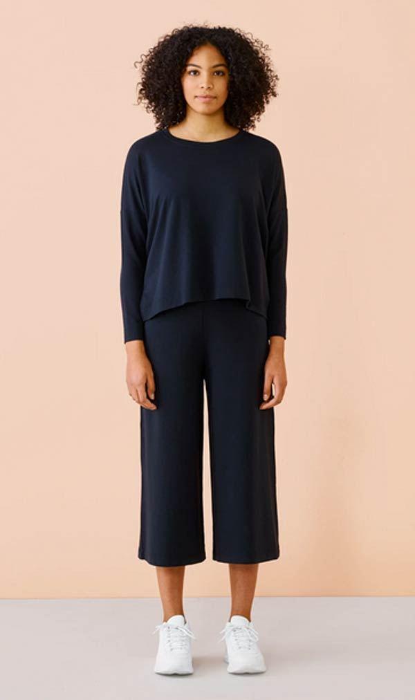 Culottes Hose Black