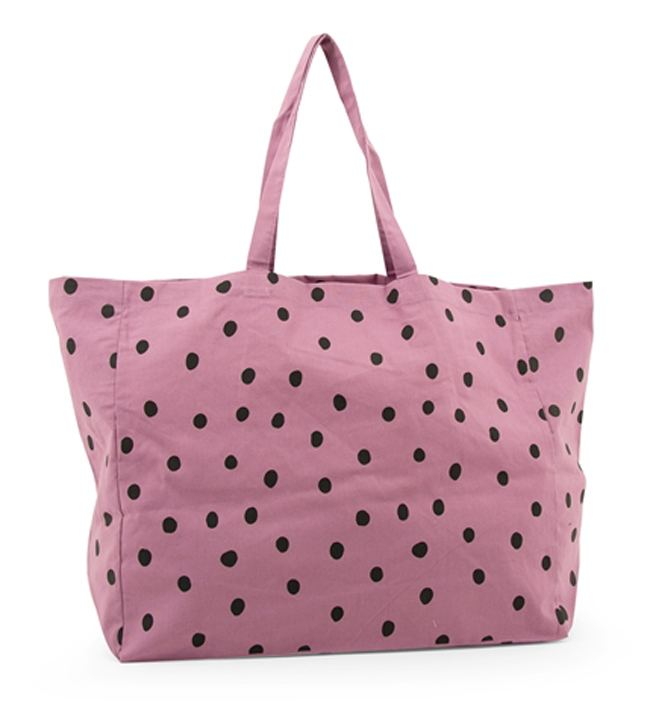 Shopper Baumwolle Sticky Lemon Freckles Pirate Purple