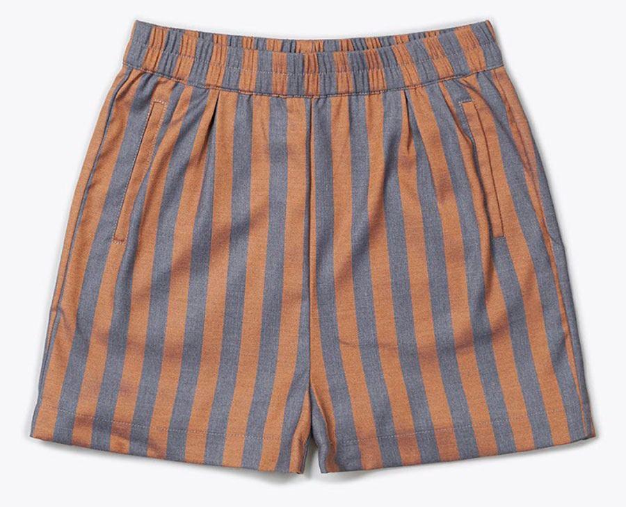 Lea Shorts Grey Orange