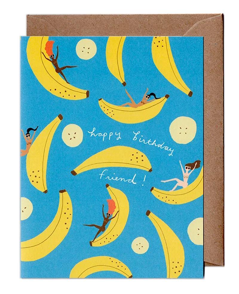 Carolyn Suzuki Klappkarte Banana Party