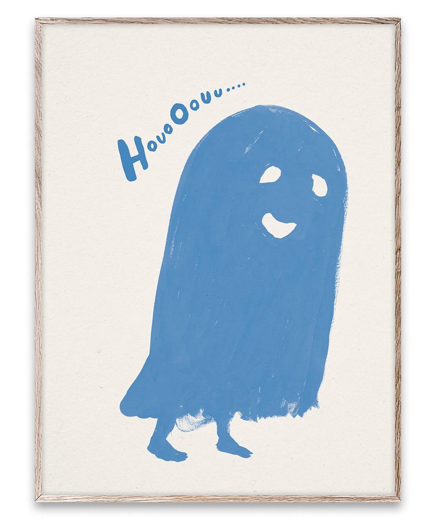 HouoOouu Blue Print (30x40cm)