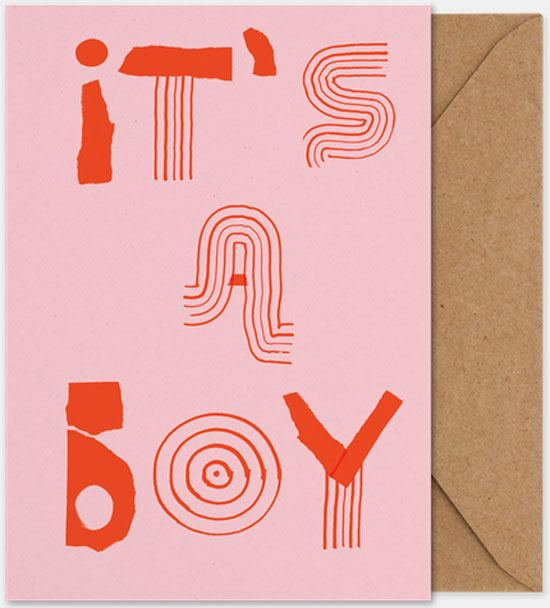 It´s a Boy Klappkarte (Din A5)