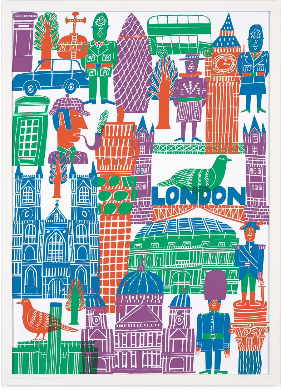 London Poster (50 x 70 cm)