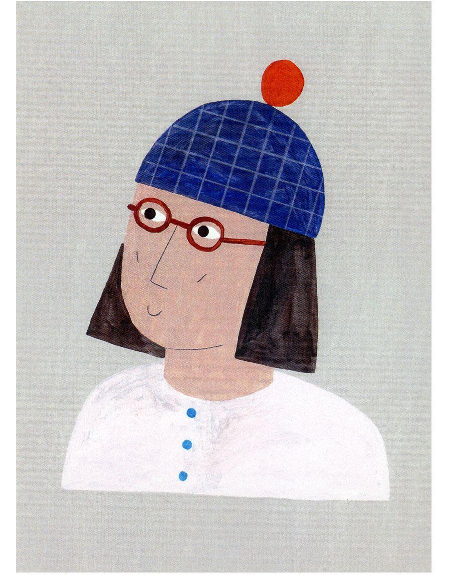 Mütze Postkarte