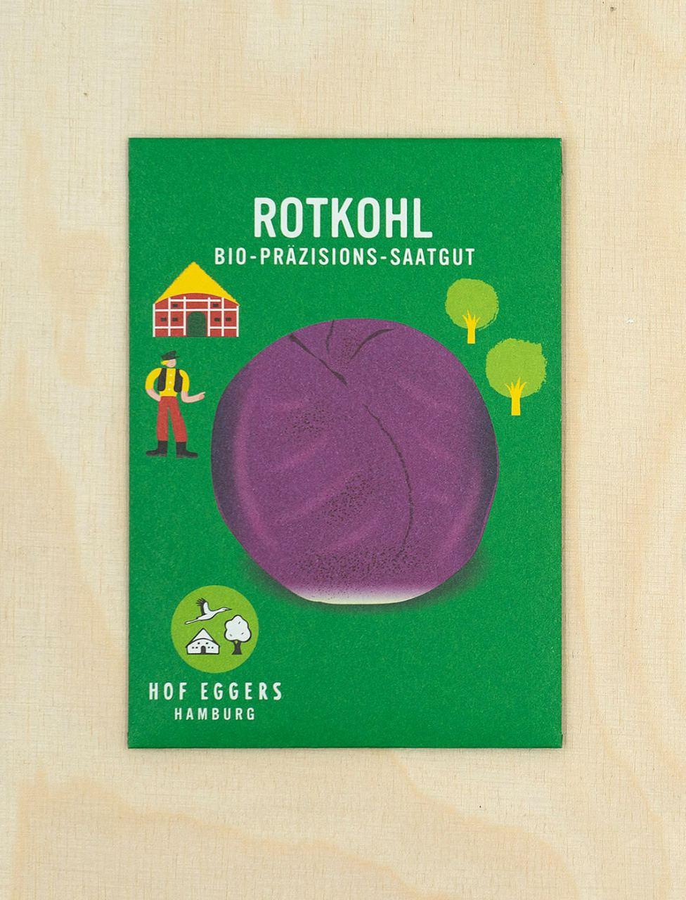 Rotkohl Rodynda, Bio-Saatgut