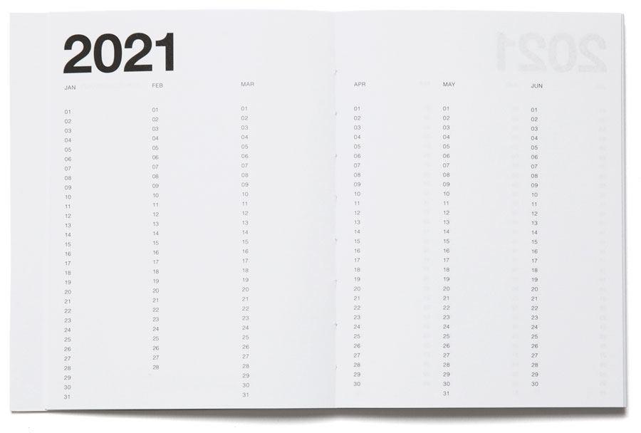 Basic Planner 2021 Mono