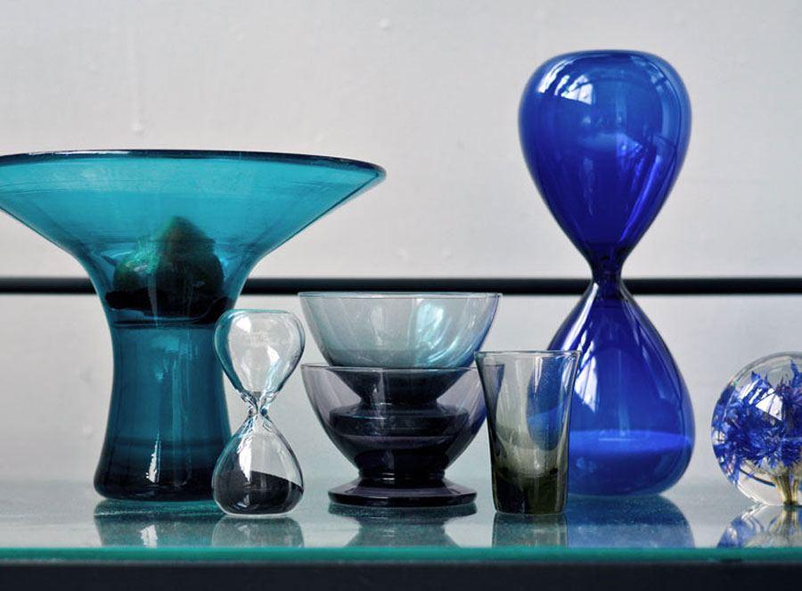 Sanduhr L / 15min Blue