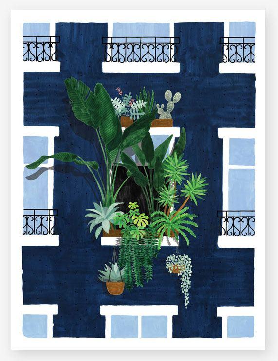Balcony Print (29,7 x 39,7cm)