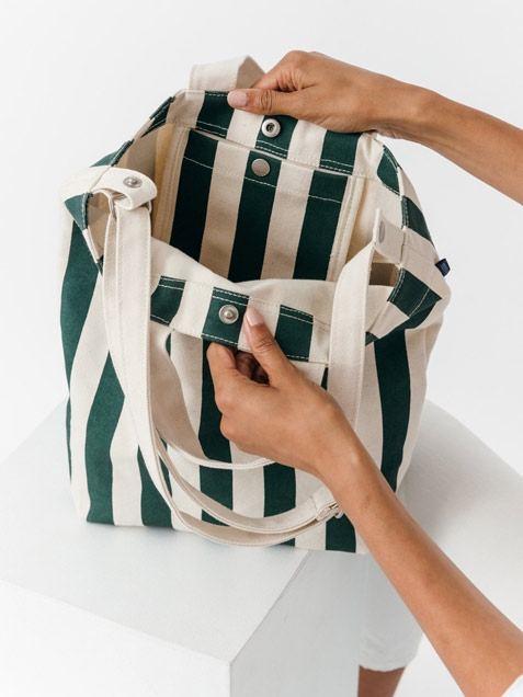 Duck Bag Palm Stripe
