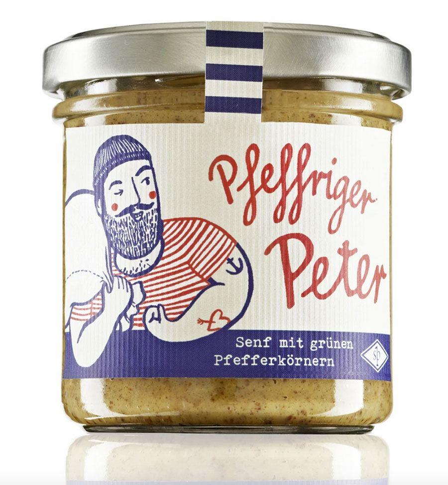 Senf Pauli - Pfeffriger Peter