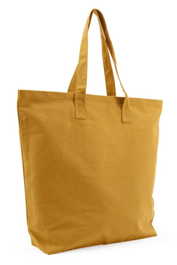 Shopper Baumwolle Ocher Yellow