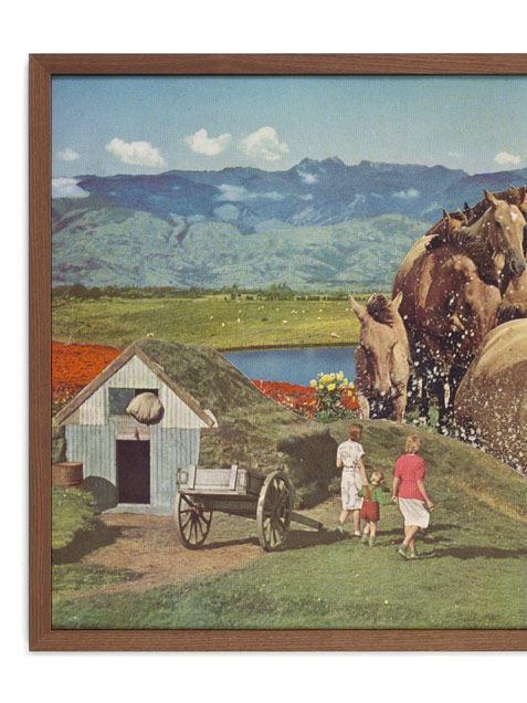 Stampede Poster (50 x 70 cm)